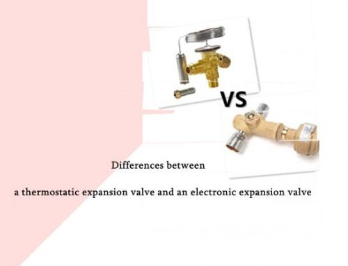 Differences between a thermostatic expansion valve and an electronic expansion valve