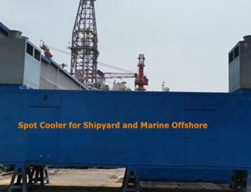 Spot Cooler for Shipyard and Marine Offshore