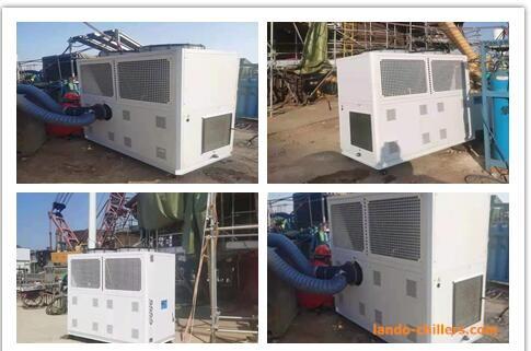 Spot Cooler for Shipyard