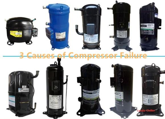 3 Causes of Compressor Failure